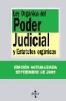 Javiercoterillo.es Ley Organica Del Poder Judicial Y Estatutos Organicos (23ª Ed.) Image