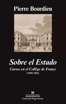 sobre el estado (ebook)-pierre bourdieu-9788433935205