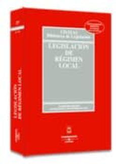 Chapultepecuno.mx Legislacion De Regimen Local (10ª Ed.) Image