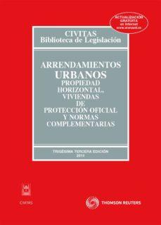 Lofficielhommes.es Arrendamientos Urbanos, Propiedad Horizontal, Viviendas De Protec Cion Oficial Y Normas Complementarias (33ª Ed) Image