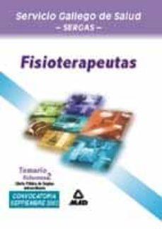 Geekmag.es Fisioterapeutas Del Servicio Gallego De Salud: Temario (Vol. Ii): Ope Extraordinaria Image
