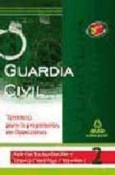 Upgrade6a.es Guardia Civil. Temario Para La Preparacion De Oposicion. Materias Socioculturales Y Tecnicocientificas. Volumen Ii Image