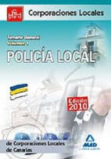 Relaismarechiaro.it Policia Local De Canarias. Temario General. Volumen I Image