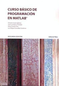 curso básico de programación en matlab-antonio souto iglesias-9788473605205
