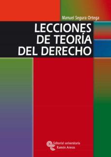 Descargar LECCIONES DE TEORIA DEL DERECHO gratis pdf - leer online