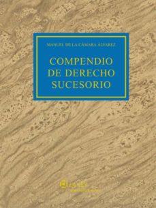 compendio de derecho sucesorio (ebook)-manuel de la camara alvarez-9788481268805