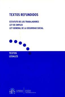 Trailab.it Textos Refundidos. Estatutos De Los Trabajadores. Ley De Empleo. Ley General De La Seguridad Social Image
