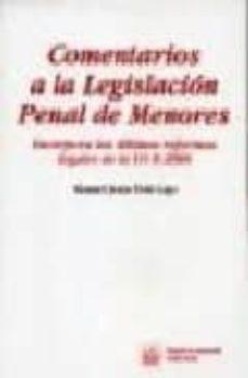 Inmaswan.es Comentarios A La Legislacion Penal De Menores: Incorpora Las Ulti Mas Reformas Legales De La Lo 8/2006 Image