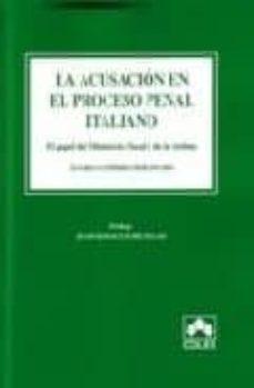 Colorroad.es Acusacion En El Proceso Penal Italiano: El Papel Del Ministerio F Ical Image