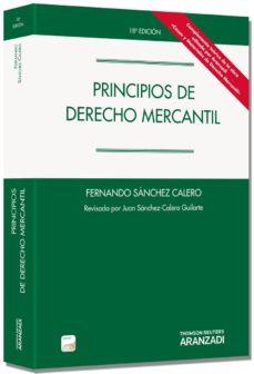 Permacultivo.es Principios De Derecho Mercantil(18ª Ed.) Image