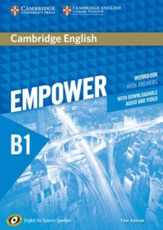 Descarga gratuita de libros electrónicos para iphone 3g CAMBRIDGE ENGLISH EMPOWER FOR SPANISH SPEAKERS B1 WORKBOOK WITH ANSWERS, WITH DOWNLOADABLE AUDIO AND VIDEO CHM