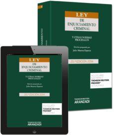 Vinisenzatrucco.it Ley De Enjuiciamiento Criminal Y Otras Normas Procesales (20ª Ed) Image