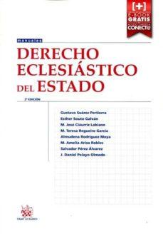derecho eclesiastico del estado (2ª ed.)-gustavo suarez-9788491195405