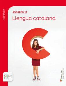 Geekmag.es Llengua 5º Educacio Primaria Segundo Trimestre Quadern Catala Saber Ed 2017 Image