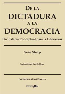 de la dictadura a la democracia-gene sharp-9788494040405