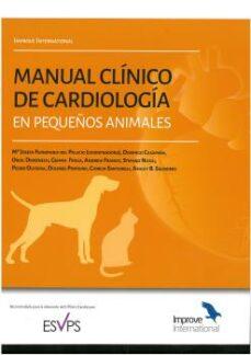 Enlaces de descarga de libros de audio MANUAL CLÍNICO DE CARDIOLOGÍA EN PEQUEÑOS ANIMALES