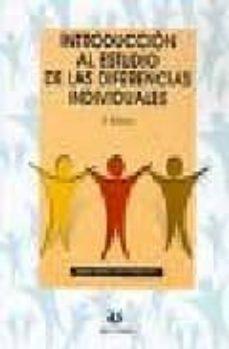 introduccion al estudio de las diferencias individuales (2ª ed.)-angeles sanchez elvira paniagua-9788496094505