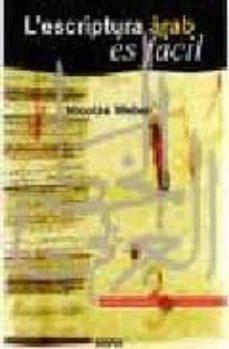 l escriptura arab es facil-nicolas weber-9788496483705