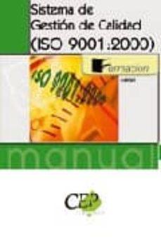 Encuentroelemadrid.es Manual Sistema De Gestion De Calidad (Iso 9001:2000). Formacion Image
