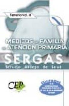 Permacultivo.es Medicos De Familia De Atencion Primariadel Servicio Gallego De Salud (Sergas). Temario Vol. Iii Image