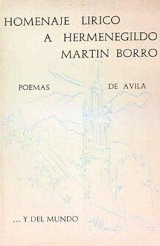 HOMENAJE LÍRICO A HERMENEGILDO MARTÍN BORRO - VV. AA.   Adahalicante.org