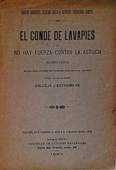 Bressoamisuradi.it El Conde De Lavapiés O No Hay Fuerza Contra La Astucia Image