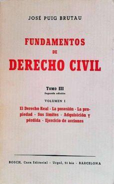 Viamistica.es Fundamentos De Derecho Civil Tomo Iii Volumen I Image