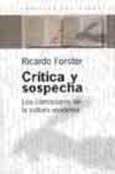 Cdaea.es Critica Y Sospecha: Los Claroscuros De La Cultura Moderna Image