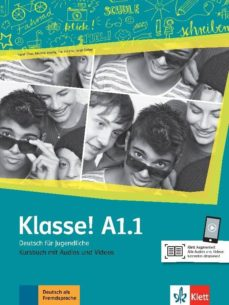 Descargar libros electrónicos gratis kindle pc KLASSE! A1.1 LIBRO DEL ALUMNO + ONLINE (Spanish Edition) 9783126071215 MOBI ePub CHM de