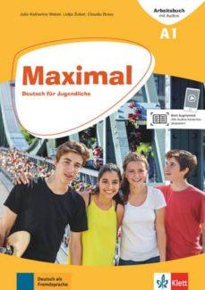 Descargador de libros pdf MAXIMAL A1 EJERCICIOS +AUDIO ONLINE 9783126767415 DJVU de DESCONOCIDO en español