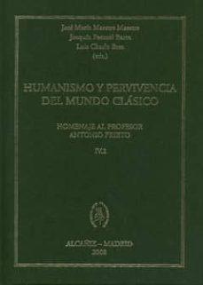 Mrnice.mx Humanismo Y Pervivencia Del Mundo Clasico. Homenaje Al Profesor A Ntonio Prieto Iv-2 Image
