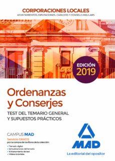 Javiercoterillo.es Ordenanzas Y Conserjes De Corporaciones Locales: Test Del Temario General Y Supuestos Practicos Image