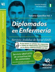 Enmarchaporlobasico.es Diplomados En Enfermería Del Sas: Temario Especifico Vol. 1 Image