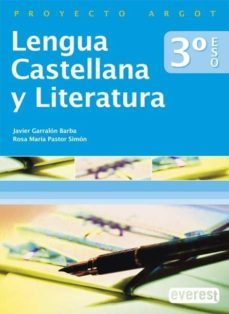 Lofficielhommes.es Lengua Castellana Y Literatura 3º Eso (Proyecto Argot) Image