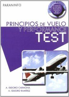 principios de vuelo y performance: test-anibal isidoro carmona-9788428331715