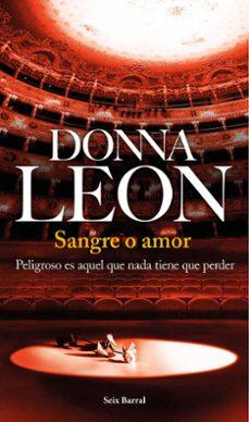 Descarga gratuita de libros de texto en pdf SANGRE O AMOR in Spanish de DONNA LEON
