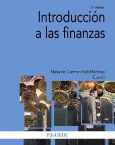 introduccion a las finanzas-maria del carmen valls martinez-9788436831115