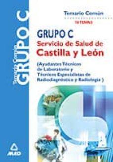 Mrnice.mx Servicio De Salud De Castilla Y Leon Grupo C: Temario Comun Image