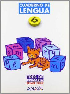 Inmaswan.es Lengua, Cuaderno 6 (2º Primaria) (Ed. 2004) Tres De Primaria Image