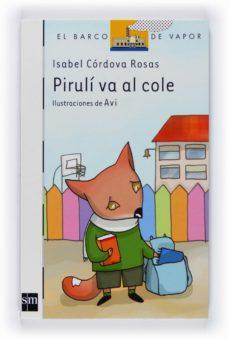 piruli va al cole-isabel cordova rosas-9788467529715