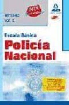 Javiercoterillo.es Escala Basica De Policia Nacional: Temario, Volumen I Image