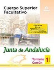 Inmaswan.es Cuerpo Superior Facultativo De La Junta De Andalucia. Temario Com Un. Volumen I Image