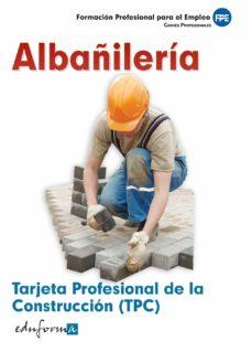 Geekmag.es Tarjeta Profesional De La Construccion (Tpc). Albañileria. Carnes Profesionales. Formacion Profesional Para El Empleo Image