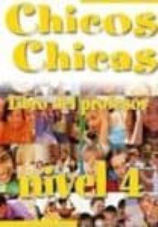 Debatecd.mx Chicos Chicas 4. Libro Del Profesor Image