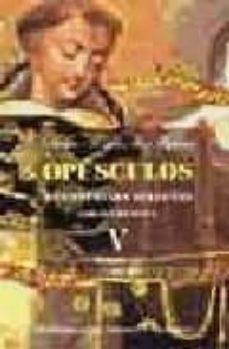 opusculos y cuestiones selectas v: edicion bilingüe. teologia (3)-tomas de aquino-9788479149215