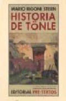 Libros electrónicos descargados y descargados HISTORIA DE TÖNLE de MARIO RIGONI STERN