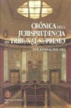 Cdaea.es Cronica De La Jurisprudencia Del Tribunal Supremo 2002-2003 Image