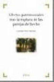 Descargar EFECTOS PATRIMONIALES TRAS LA RUPTURA DE LAS PAREJAS DE HECHO gratis pdf - leer online