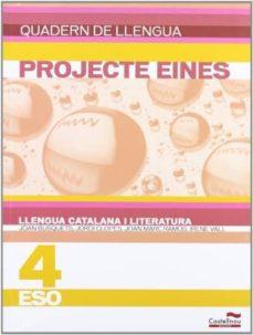 Mrnice.mx Quadern Llengua Catalana I Literatura 4 Eso. Projecte Eines Image