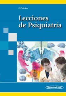 Descargar audiolibros gratis para ipod LECCIONES DE PSIQUIATRIA (Literatura española) MOBI PDB 9788498352115